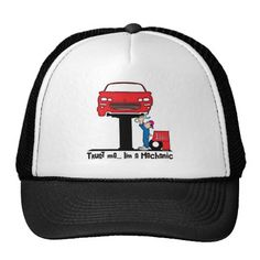Trust Me I'm a Mechanic Funny Auto Mechanic Trucker Hat