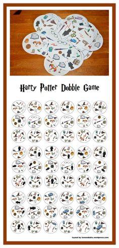 Mein Dobble Harry Potter Jener Internet-Tagebuch von Mimi the Bidouille Cadeau Harry Potter, Harry Potter Monopoly, Harry Potter Bricolage, Harry Potter Thema, Cumpleaños Harry Potter, Mundo Harry Potter, Harry Potter Classroom, Anniversaire Harry Potter, Harry Potter Birthday
