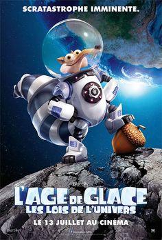 Trailer cosmique de L'Age de Glace – Les Lois de l'UniversL'éternelle quête de Scrat pour attraper son insaisissable gland le catapulte dans l'espace, où il déclenche accidentellement une série d'événements cosmiques qui vont transformer et menacer le monde de l'Âge de Glace. Pour survivre, Sid, Manny, Diego et le reste de la bande vont devoir quitter leur foyer et se lancer dans une nouvelle aventure pleine d'humour au cours de laquelle ils vont traverser d'incroyables paysages exotiques et…