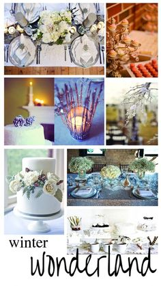 {Winter Wedding Inspiration}: A Modern Wonderland