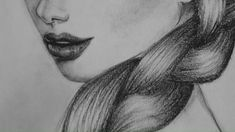 You can draw a realistic braid braid draw realistic braids drawing realistic braids drawing tutorial Pencil Shading Techniques, Pencil Drawings For Beginners, Drawing Tutorials For Beginners, Pencil Drawing Tutorials, Realistic Drawings, Drawing Techniques, Easy Drawings, How To Shade Drawings, Horse Drawings