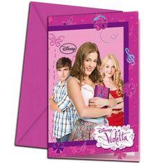 Invitaciones cumpleaños Violetta: fotos diseños para imprimir | Ellahoy