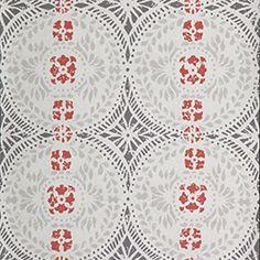 Oscar from Duro Swedish Wallpaper, Interior Wallpaper, Paper Wallpaper, Wall Wallpaper, Stenciled Floor, Floor Stencil, Handmade Wallpaper, Fabulous Fabrics, Scandinavian Home