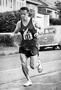 Arthur Lydiard, Greatest Distance Running Coach of all time. He trained Peter Snell and other runners on west Auckland's hilly Scenic Drive. Read obituary  'Lydiard's Final Run' at http://www.nzedge.com/lydiards-final-run/