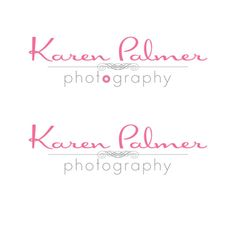 PreMade Custom Logo Design Photography Small by PamHornDesign