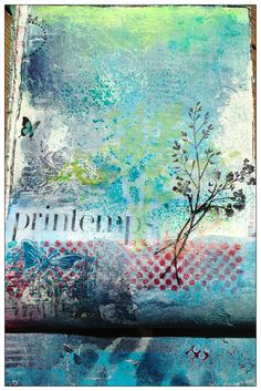 art journal - colors/collage