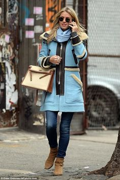 Nicky Hilton wearing Hermes Kelly Bag, Saint Laurent Blake Jodhpur Boots and Ray-Ban 50mm Rounded Sunglasses