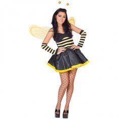 Biene mit Flügel & Fühler
