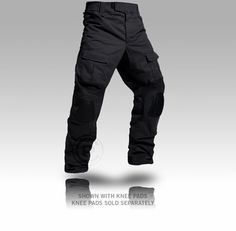 Crye Precision Combat Pants AC: 10 pockets, knee and lower back stretch panels, padded waist band, Crye removable knee pad compatible, and can be worn casually, avoiding unwarranted attention [$180] Tactical Clothing, Tactical Gear, Men's Clothing, Gear S, Cool Gear, Ninja Gear, Edc Bag, Low Back Stretches, Combat Pants