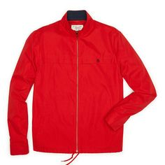 MACNER JACKET, Haute Red
