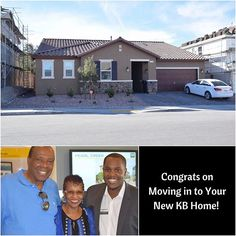 Nothing says Official like getting to move into your brand new home! Congrats again to my clients Virgil and Bobbie on their new KB home in Henderson. 🎉 🎉 - Shawn ⠀