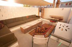 Ace Hotel Palm Springs patio