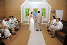 Wedding in the Missionary Baptist Church in Cades Cove, Great Smoky Mountains