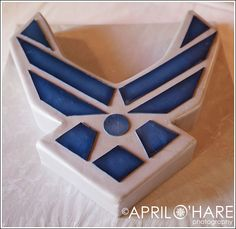 air force cake ~ not a cake maker, but might need this one one day soon :)