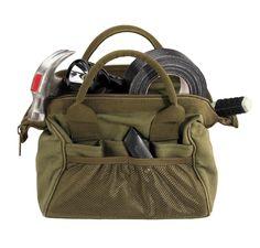Military Tool Bags - Durable Platoon Medics / Contractors Kit Bag w/ 18 Pockets