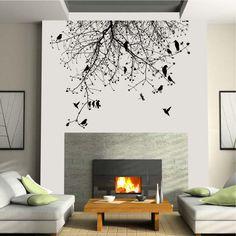 ΔΙΑΚΟΣΜΗΤΙΚΑ : Πουλιά σε κλαδιά δέντρου | Digi Wall
