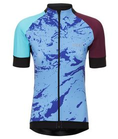 Huez Bia Lycra Performance Jersey Top on The Cycling Store Athletic, Road Cycling, Jackets, Bicycle, Kit, Collection, Store, Fashion, Down Jackets