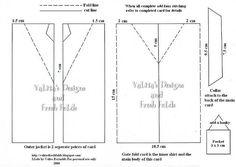 Mens Jacket card: Template & Printable Patterns - Splitcoaststampers
