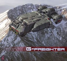 G-Freighter by Rob-Caswell on deviantART