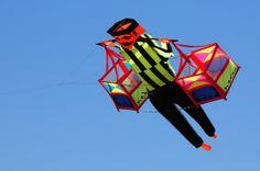 love this street vendor kite - Kite Festival 2013