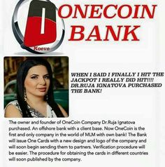 Excuse Me, Hello Friend, Can You spare some minutes from your Busy Schedule, to see this clip, An Amazing Opportunity to Make your Dream come True...I Assure It may be a Big Changer For You...  Onecoin intro film aug 2016 https://youtu.be/VbliNYM_Mqo  Concept: https://youtu.be/-McZZk5f1aI  ONECOIN Ponzi scam for real.  https://youtu.be/uRmHaatMv-w  Register for free.onecoin.eu/signup/Mar94mot