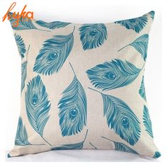 Cushion Cover Colorful Black Pink Flamingo Pillow Case Peacock Feather Goose Feather Real feather Home Decorative Pillow Cover-in Cushion Cover from Home & Garden on Aliexpress.com | Alibaba Group