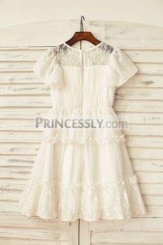 Ivory lace dress 4t 24t 27