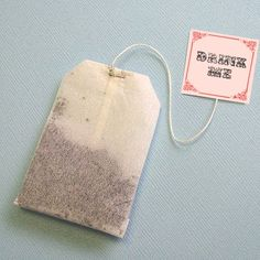 Mad hatter Tea Bag - Want to use as Favor Bags