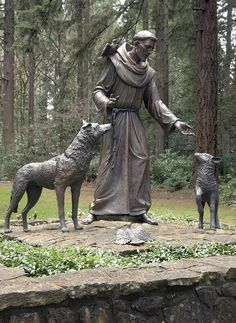 Francis of Assisi on October 4 by having their pets blessed in the spirit of this patron saint of animals and ecology. Description from pinterest.com. I searched for this on bing.com/images