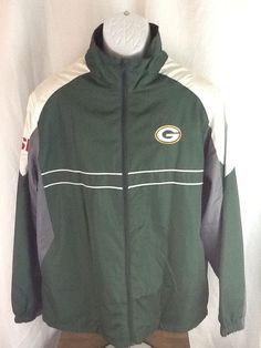 Green Bay Packers Dunbrooke SI Sports Illustrated Jacket Size L Football Nfl EUC #Dunbrooke #BasicJacket