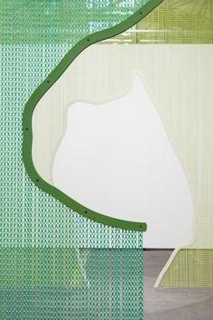 KriskaDECOR metal curtains for interior design, architecture and art  (Photo: Daniel Steegmann Mangrane)