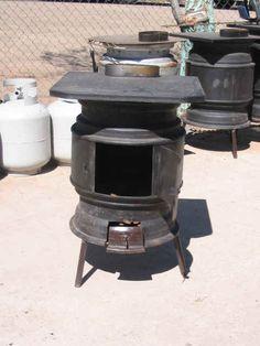 tire rim stove