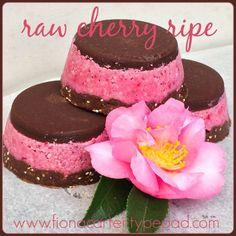 Raw cherry ripe slices #rawfood