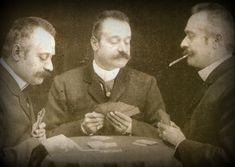 #Vintage #Toscano #Cigar #Aficionados: card player 3-some effect #cigars #cigaraficionado