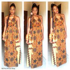 Sedouma dress from the African Shop.