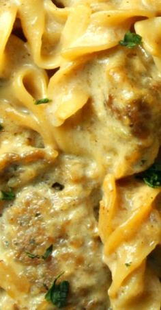 Creamy French Onion Sausage Pasta