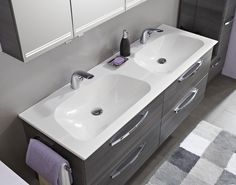 Is one never enough? Fear not PCON can offer you two sinks. Say no more to arguments when brushing your teeth!