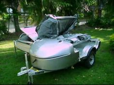 Solace Pull Behind Motorcycle Camper Trailer 2675