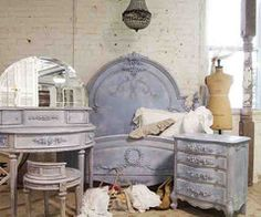 Painted Cottage Chic Shabby French Blue by paintedcottages on Etsy