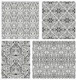 FIYAT / BILGI Fotoğraf Set of Damask seamless patterns Hazır Fotoğraflar