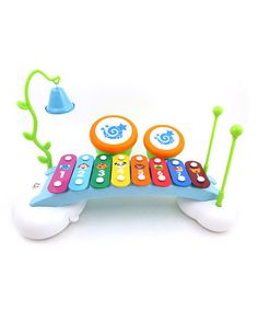 Look at this Rainbow Xylophone Piano/Drum Bridge on #zulily today!