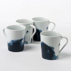AM.PM - Mug porcelaine Encira (lot de 4) | La Redoute