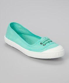 Agua Ballarina Inglesa Lona Sneaker