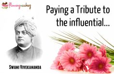 Paying A Tribute Of Flowers On His Birthday.. Remembering Swami Vivekananda..
