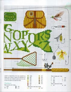 fisherman sampler 2/2 Cross Stitch Borders, Cross Stitch Alphabet, Cross Stitch Samplers, Cross Stitch Animals, Cross Stitch Patterns, Embroidery Art, Cross Stitch Embroidery, Embroidery Designs, Canvas Designs