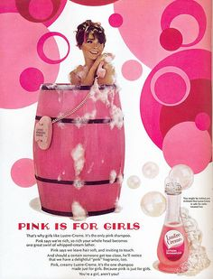 Lustre Creme ad, 1968  Scanned by Mariana from The Golden Age of Advertising - the 60s.