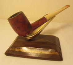 Vintage KBB Yello Bole Premier Straight Billiard Estate Briar Tobacco Pipe