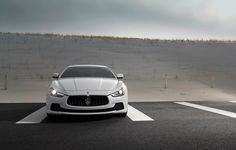 Sculpted forms and well-defined volumes connected by clean lines that create movement: #MaseratiGhibli