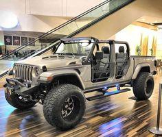 Jeep Wrangler Pickup, Jeep Pickup Truck, Cj Jeep, Jeep Cars, Jeep Wrangler Unlimited, Jeep Wranglers, Jeep Gladiator, Carros Suv, Hummer Truck