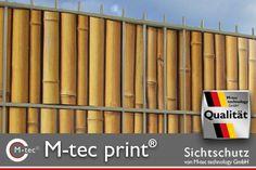 M-tec print Sichtschutz